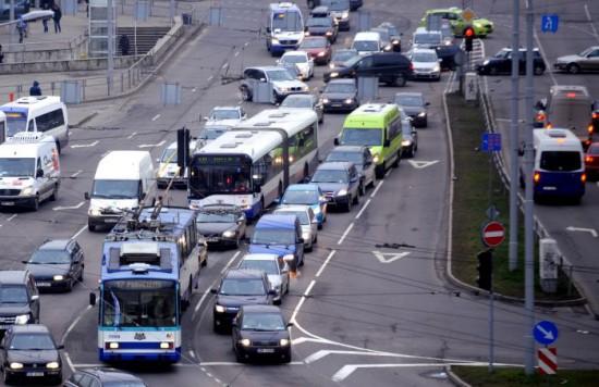 Stacijas laukuma sastrēgums